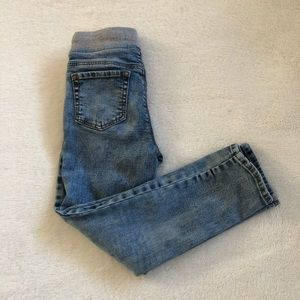 Old Navy Unisex Jeans Rib-Knit Waist Distressed 5T